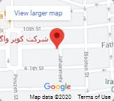 کویر واگن در گوگل مپ